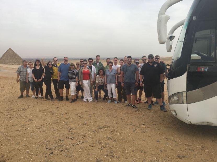 Tagesausflug von Hurghada nach Kairo mit dem Bus