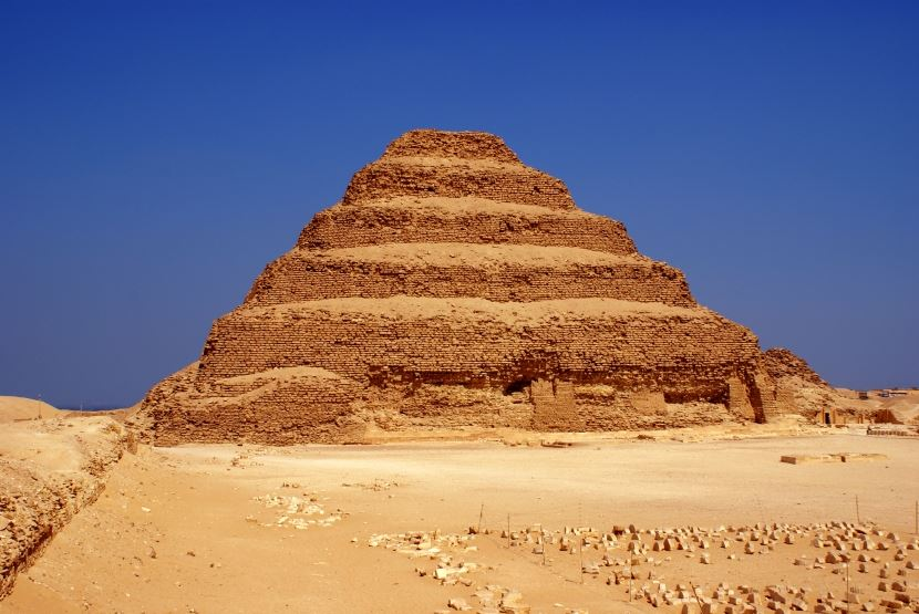 Day tour from  Port of Sokhna to cairo&Pyramids and Sakkara