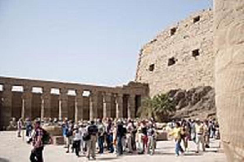 Ausflug  zum Karnak-Tempel & Luxor-Tempel  in Luxor.