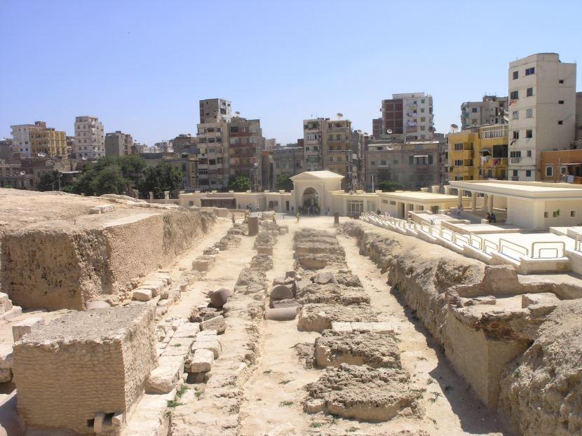 Ausflug von Kairo nach Alexandria.