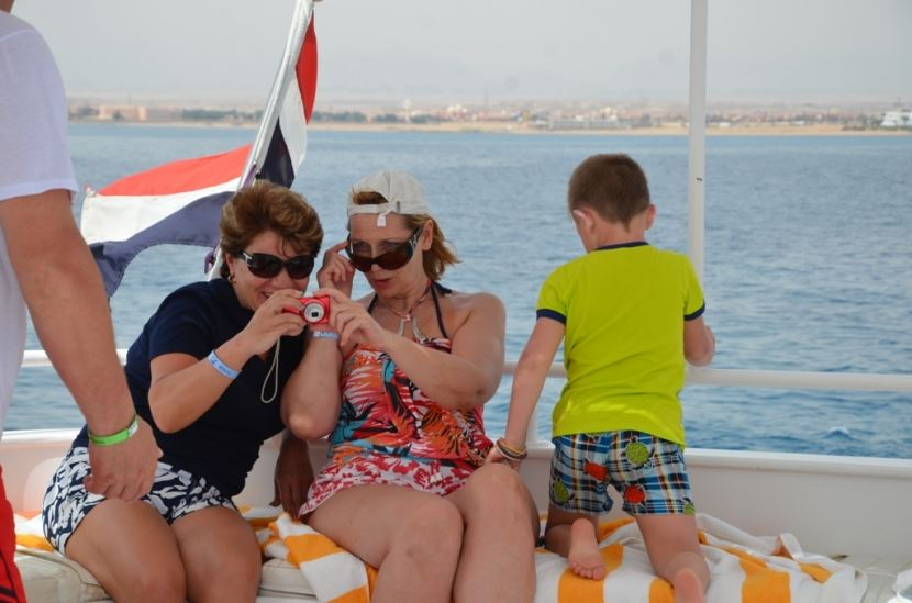 Ausflug nach Ras Mohammed mit dem Boot