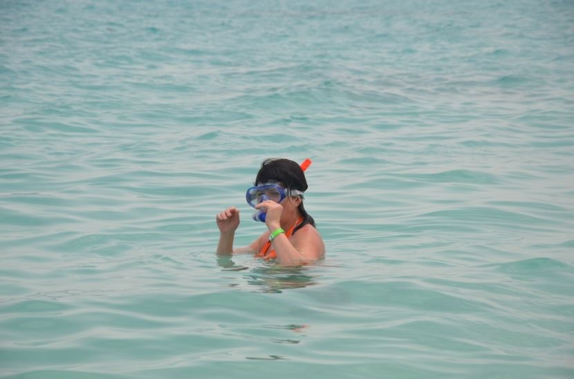 Giftun Island and snorkeling from soma bay