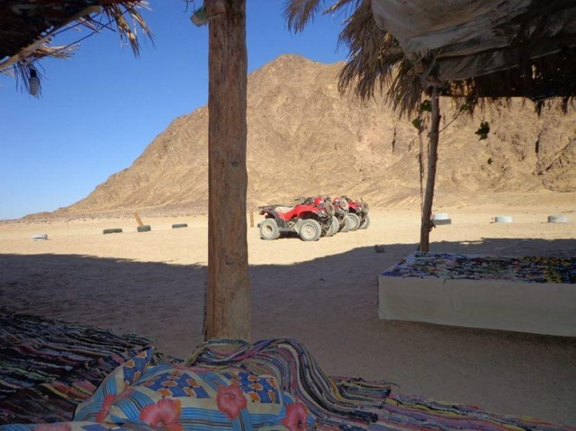 3-Hour Quad Bik Morning Desert Safari from Port of Safaga