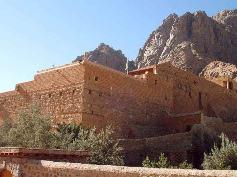 St Catherine's Monastery from sharm el sheikh