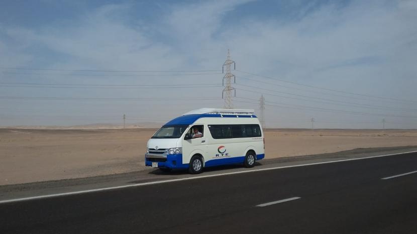 Busverbindung zwischen Hurghada und Luxor