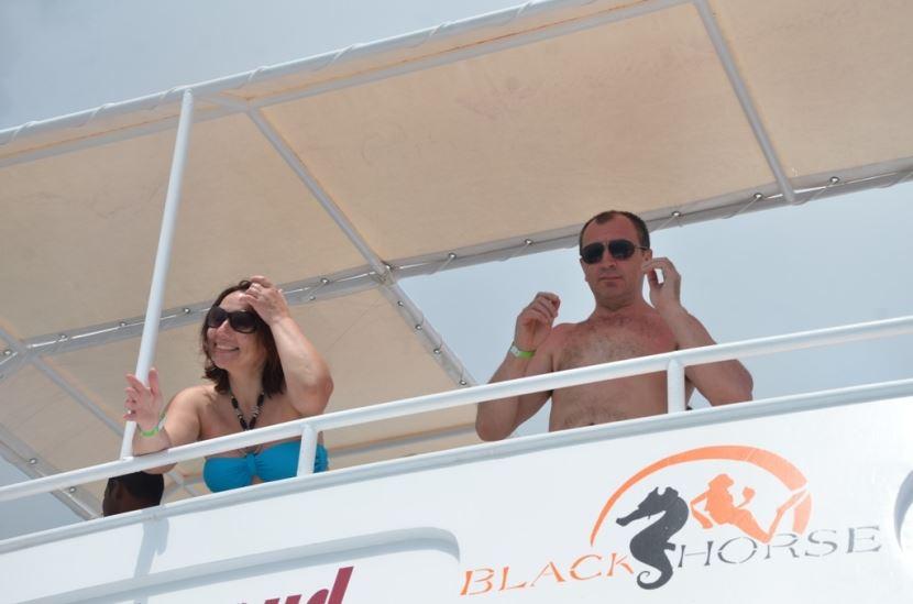 Landausflug mit dem Boot nach  Ras Mohammed ab Sharm El Sheikh Hafen