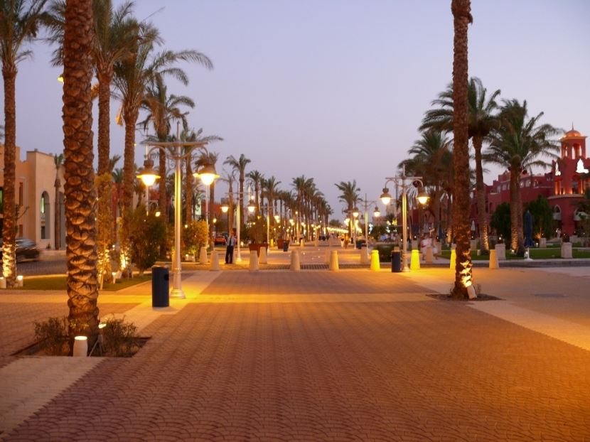 Stadtrundfahrt in Hurghada ab Safaga Hafen