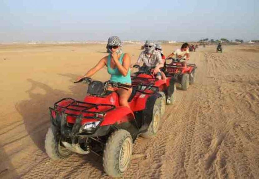 4-Hour Guided Quad Bike Safari from sharm el sheikh Port
