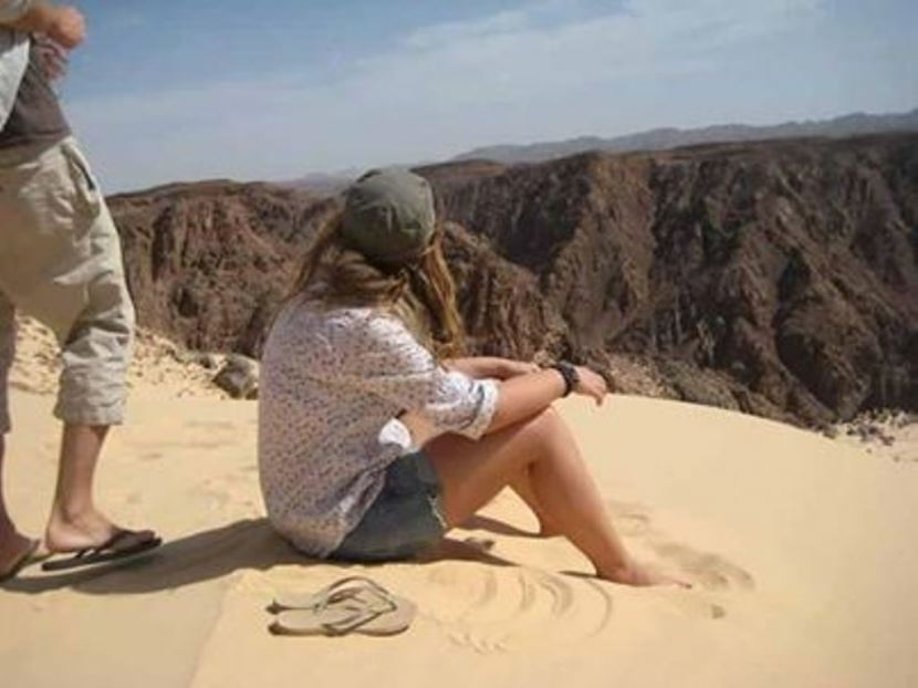 Colored Canyon & Dahab City Jeep Safari Tour from sharm el sheikh Port