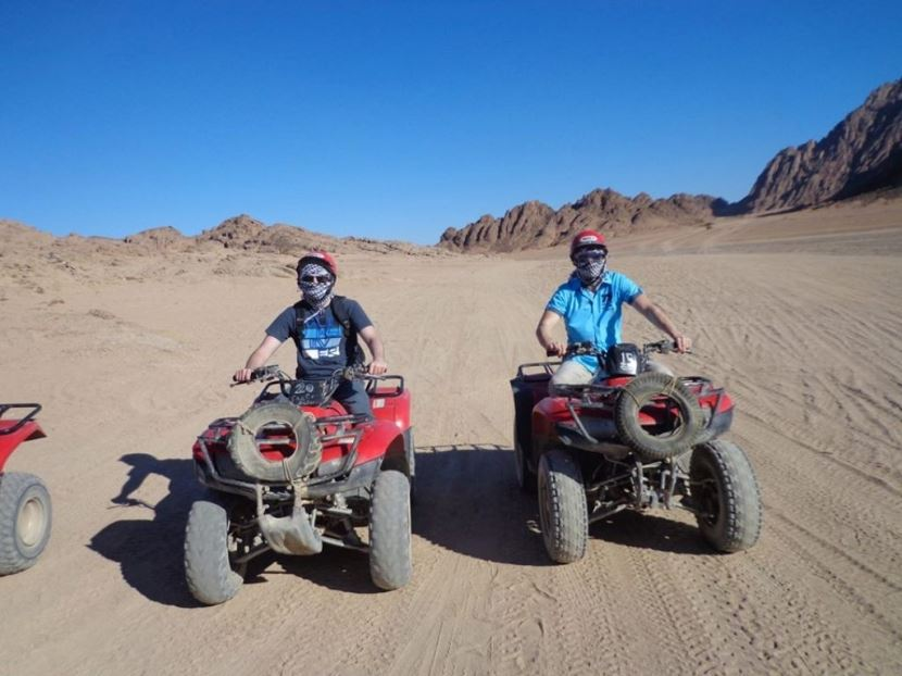 3-Hour Quad Bik Morning Desert Safari in Hurghada
