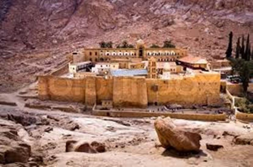 St Catherine's Monastery from sharm el sheikh