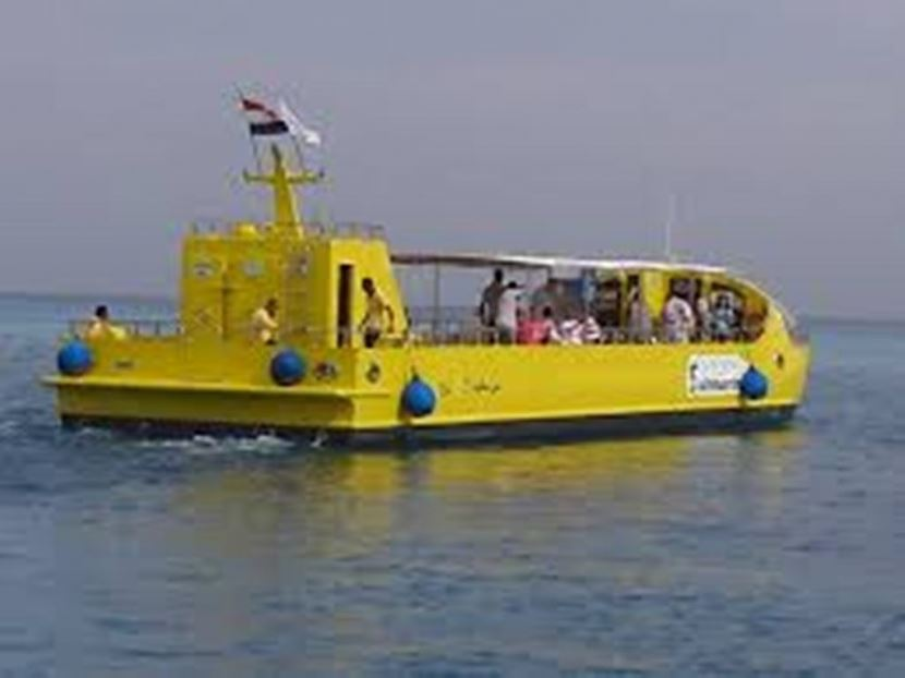 Trip to Semi- Submarine from sharm el sheikh
