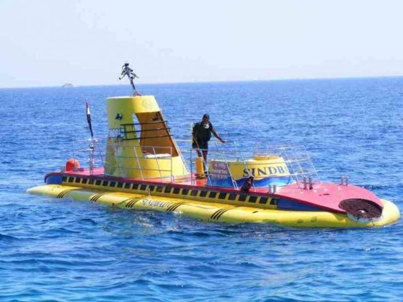Trip to Semi- Submarine from sharm el sheikh PORT